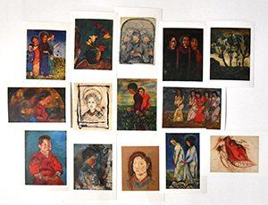 """SEKINE Shōji: A Retrospective"" Postcard"