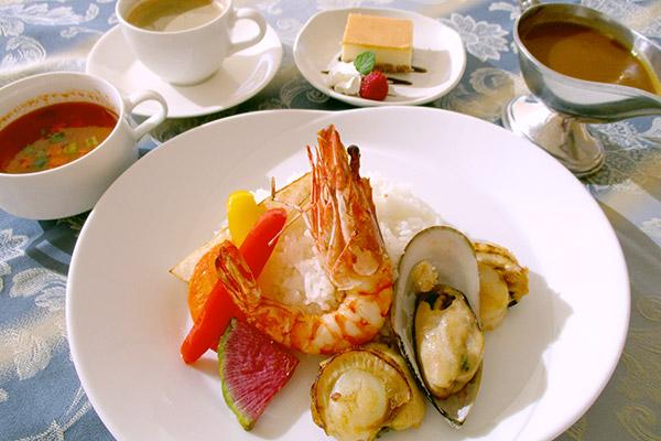 Seafood Curry Set