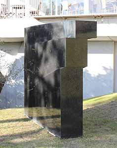 Hikaru Yumura, Stone Work – Stream, 1987