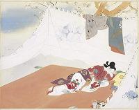 Kiyokata Kaburagi The story of Onatsu-seijūrō