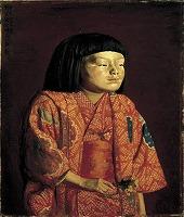岸田劉生 《童女図(麗子立像)》1923年 油彩,カンヴァス