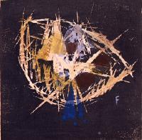 藤牧義夫 《つき》1934年 木版