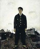 Shunsuke Matsumoto, Standing Figure, 1942